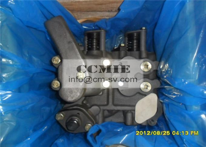 Construction Vehicle Control Blade Switch Valve , Shantui Bulldozer Spare Parts