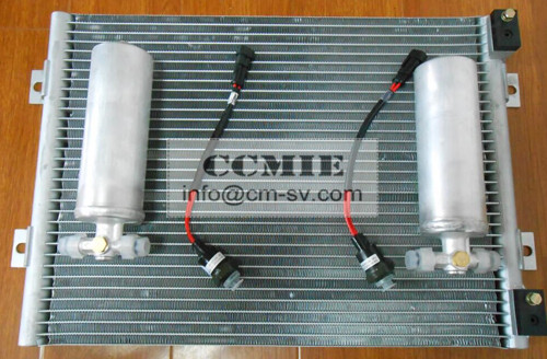 XCMG Excavator Spare Parts Air Condenser Excavator Refrigeration Units Drying Bottle
