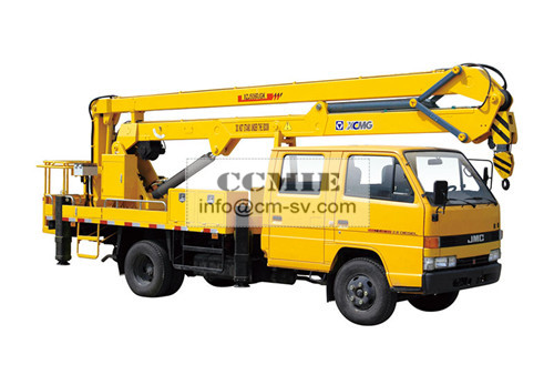 High Lifting Platform Special Vehicles Truck Mounted Lift With 2000kg Max