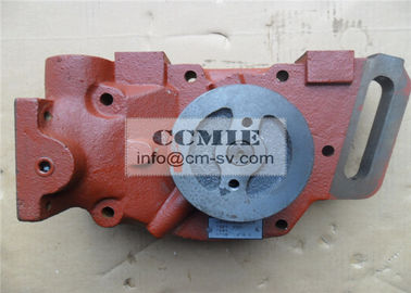 China Shantui Bulldozer Parts Water Pump with Solid Steel Material FCC / SGS / ISO9001 supplier