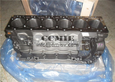 China Cast Iron  / Forged Steel Air Cooled Diesel Engine Cylinder Block Assembly  for Komatsu Excavator supplier