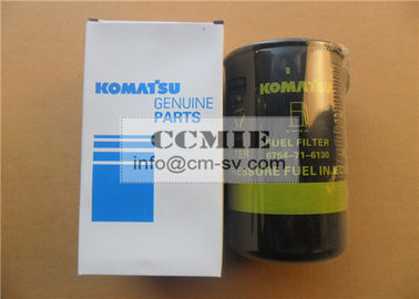 China KOMATSU Excavator Fuel Filter Replacement , Truck Diesel Engine Fuel Filter  supplier