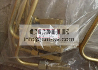 China C6121 Shangchai Parts Steel Fuel Return Pipe for Construction Machinery supplier