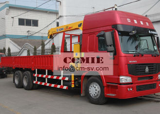 China 5 Ton Lifting Hydraulic Truck Crane Construction Machinery for 12.5 T.M Max Lifting Moment supplier
