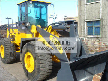 China 5 Ton Earth Moving Equipment , Strong Carrying Capacity Tractor Front End Loaders supplier