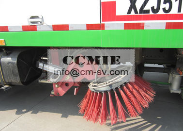 China 7000L Cleaning Washing Road Sweeper Truck Special Vehicles For Airport / Hall supplier