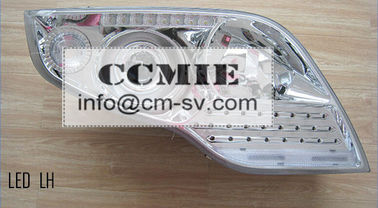 China Electrical Spare Parts Dongfeng Truck Parts 24v Bus Auto LED Headlamp GM01-063 supplier