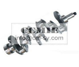 China SANY Excavator Parts Air Compressor Crankshaft For Excavator SY335 supplier