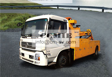 China Durable Hydraulic 6000kg Rescue Tow Truck Highway City Road Occasion supplier