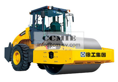 China XCMG Mechanical Single Drum Vibratory Road Roller XS162J ISO CE supplier