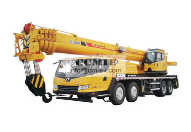 China Truck Crane QY50KA Construction Machinery With Four axis Chassis U Section Jib supplier