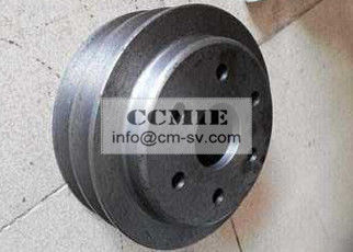 Double Tank Water Pump Pulley Komatsu Spare Parts For Excavator
