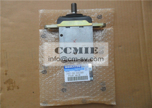 Genuine Casting Material Pilot Valve Komatsu Spare Parts For