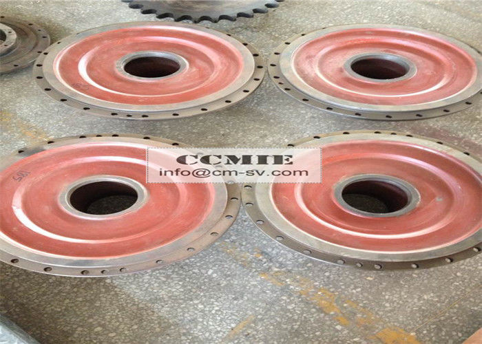 Friction Disc Material : Connecting disc xcmg spare parts with steel friction
