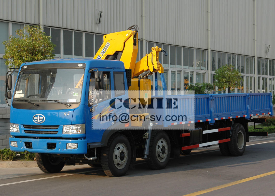 Durable XCMG Transportation Truck Mounted Crane With 6300kg