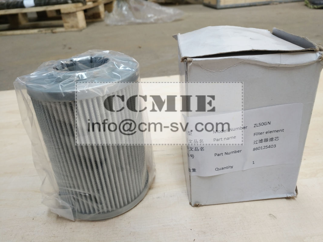 Durable XCMG Wheel Loader Spare Parts 860125403 Filter element for ...