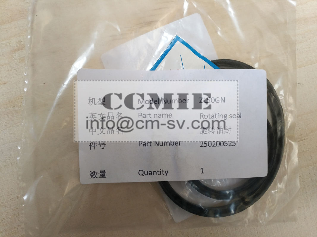 ZL520GN XCMG Spare Parts Rotating Seal Rubber Material 250200525 ...