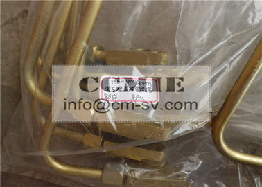 C6121 Shangchai Parts Steel Fuel Return Pipe for Construction Machinery